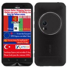 Original ASUS Zenfone Zoom Phone 4G FDD LTE 4G RAM 64G ROM Intel Atom Z3580 Quad Core 5.5inch 1920x1080P Android 5.0