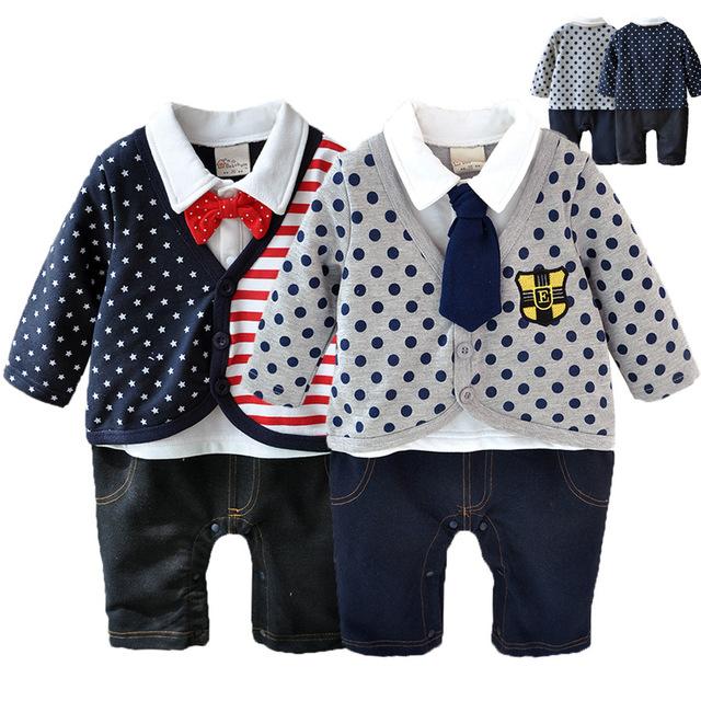 Bebé Tuxedo Gentleman Body Bebé mono Recién Nacido Ropa de Bebé Bebé guapo Esmoquin