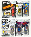 "6PCS Fingerboard Tech Decks Mini Skateboard Original package professional set ""Flip World Industries Habitat"" E28J"