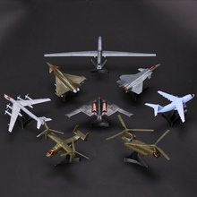 4D Third Generation 8 Models Aircraft J-20 Stealth Fighter B-2 Bomber Ospreys Helicopter Plastic Assembling Model