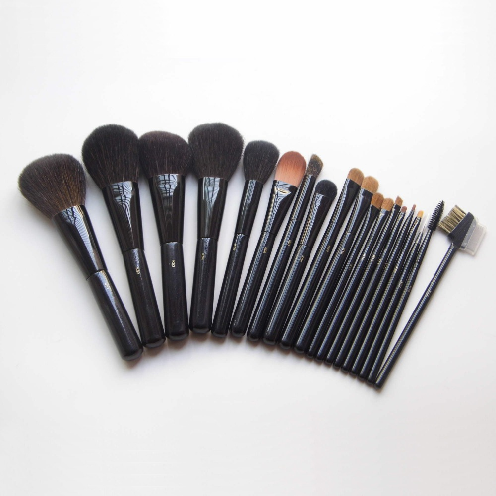 Professional Makeup Brushes High Quality Goat Hair Make Up Brush Set Cosmetic Tools Starry Sky Design 19pcs Makeup Brushes Set makeup brushes tool set 29pcs professional makeup tools accessories goat hair cosmetic with black leather cosmetic case