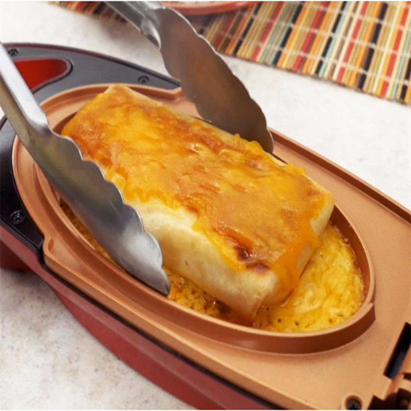 Ktchen Casseroles Électrique Pot Double Revêtement Bâton De Cuivre Pot Ustensiles de Cuisine Pizza Ustensiles de Cuisson Boeuf Ustensiles de Cuisson Petit Déjeuner de Cuisson Outils