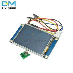 """Image 3 - 2.4 """"nextion hmiインテリジェントスマートusart uartシリアルタッチtft液晶モジュールの表示パネルラズベリーパイ 2 を + b + arduinoのための"""
