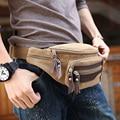 New men's waist bag The fashion leisure canvas bag Men's shoulder bag fanny pack