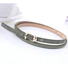 new Frosted pigskin leather belts for women dresses 2018 Hot Products solid jeans belt ceinture femme kemerler sterglaw D218