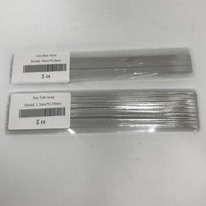 Image 2 - ALLMEJORES Solar cell Tab wire Busbar wire Soldering strip robbin 5meters 1.2mmx0.25mm + 1meter 5mmx0.2mm for DIY solar panel