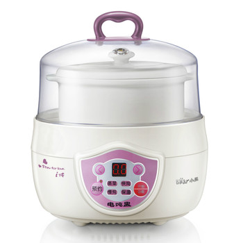 Bear Porcelain Multifunctional Slow Cooker Waterproof Electric Reservation Porcelain Soup Boil Porridge Cooking Machine 1
