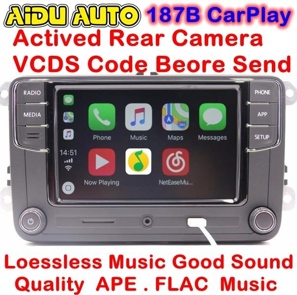 RCD330 Plus CarPlay Radio For VW Golf 5 6 Jetta MK5 MK6 CC Tiguan Passat Polo Touran 6RD 035 187 B 6RD035187B vw radio rcd510 rns510 oem 9w2 bluetooth module for vw passat b6 b7 golf jetta mk5 mk6 touran cc eos scirocco 1k8 035 730 d
