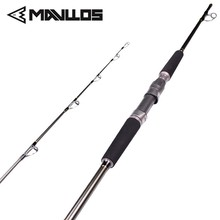 Mavllos Saltwater Boat Fishing Rod Lure Weight 80-250g Superhard Carbon Spinning Rod 2 Sections Jigging Rod Fishing Sort out