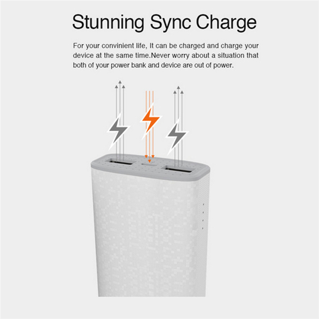 Besiter Battery Bank 10000mAh Portable Power Bank Mobile Phone Charger 4000mAh External Battery Pack USB Poverbank for xiaomi