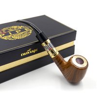 Electronic Cigarette E Pipe 618A Kit Ewinvape Pipe Electronic Vape Wooden Pipe Vaporizer Box Mod Atomizer