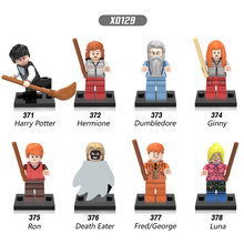 Single Sale Harry Potter Ron Weasley Lord Voldemort Ginny Death Eater Luna Building Blocks Bricks Toys For Children Gift(China)