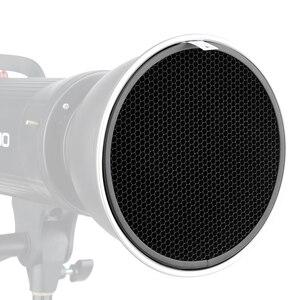 Image 5 - Standaard Reflector Aluminium Honingraat 6.7 17 cm 2/3/4/5/6/7mm voor Bowens Standaard Reflector Grid Fotografie Studio