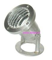 IP68  de boa qualidade alta potência 3 W CONDUZIU a luz subaquática  underwater LED Spotght  3X1 W  12 V DC  DS-10-66-3W  encaixe do aço inoxidável