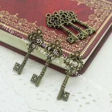 Милый Колокольчик 60 шт/лот 12*32 мм старинная бронза металлический