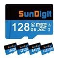 Sundigit microsdxc 128 gb 64 gb 32 gb 16 gb microsd micro sd sdhc sdxc cartão classe 10 UHS-1 Cartão de Memória TF Para Smartphone Esporte camer