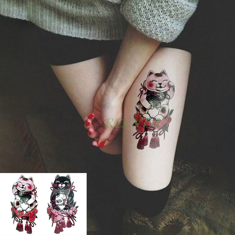 Waterproof Temporary Tattoo Sticker love doll mascot fake tatto ...