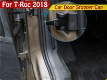 Автомобиль для укладки дверь остановить чехол снаружи двери автомобиля пробка Защитная крышка авто аксессуары Запчасти 4 шт./компл. для VW T- РПЦ 2017 2018