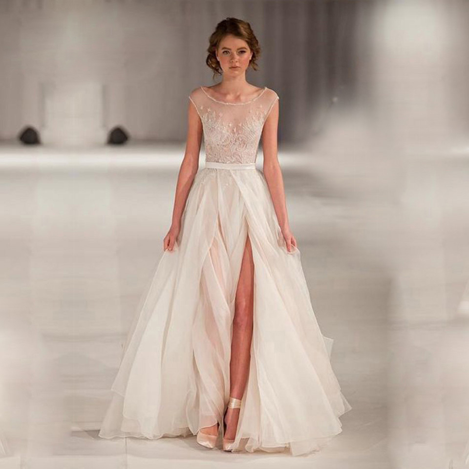 Buy high end can be tailored a line for Shop online wedding dresses