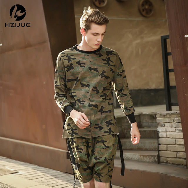 6af8e869 HZIJUE 2018 hiphop justin bieber clothes street wear kpop urban clothing  men long sleeve longline t