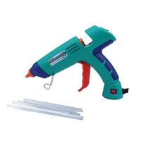 Proskit GK 389H Professional Hot Melt Glue Gun 100W + 10Pcs Glue Sticks For High Temperature Melting Strips Professional Bonding