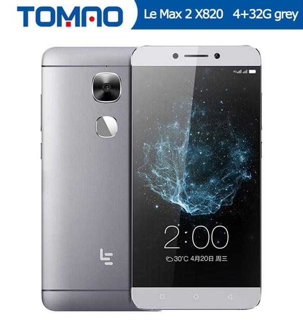 "Оригинальный 5,7 ""Letv LeEco Le Max 2X820 FDD 4 г смартфон 4 г 32 г Snapdragon 820 четырехъядерный 2560x1440 21MP отпечатков пальцев Google"