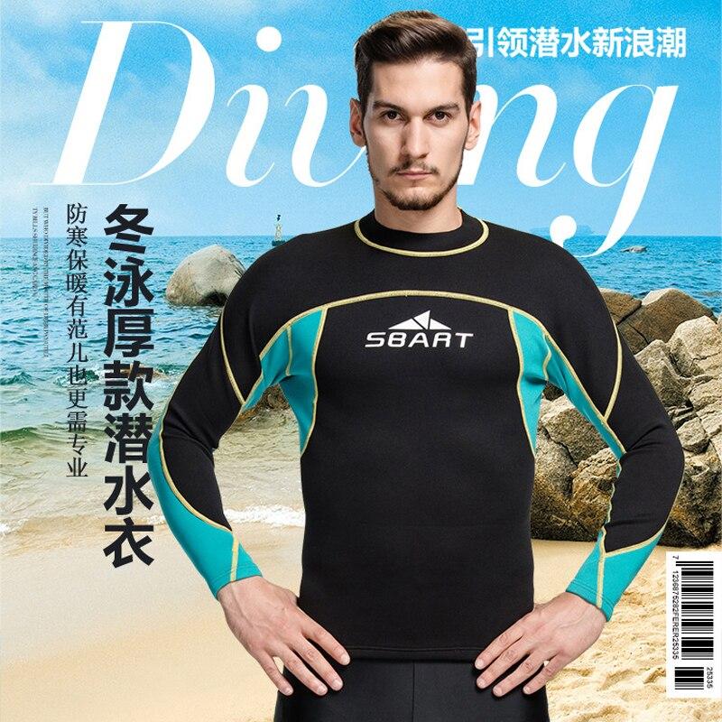 e9b04e167c7d1 2016 SBART 2 MM neopreno mantener caliente profesional traje de buceo traje  de buceo camisas para hombre traje de baño de surf los trajes del escudo  739 en ...