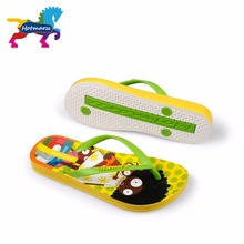Hotmarzz Kinder Flip Flops Cartoon Muster Bunte Strand Sandalen Slip On Hausschuhe