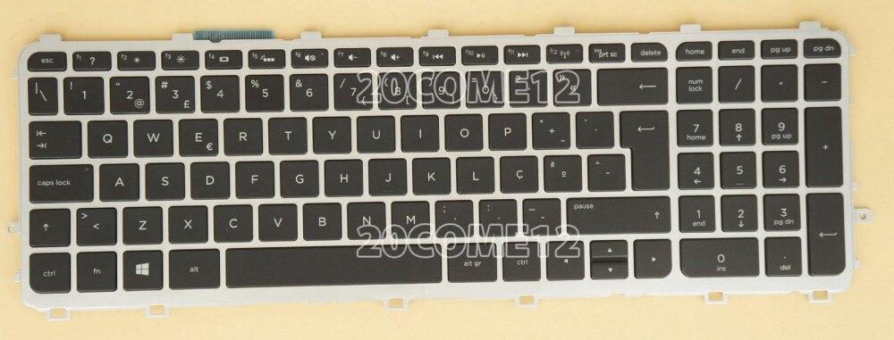 New notebook Laptop keyboard for HP ENVY 15-j102np 15-j102sp 15-j103np Portuguese Teclado  layout laptop keyboard for hp for envy 15 ae054na 15 ae058na 15 ae060nz 15 ae061nz 15 ae065na france fr 812692 051
