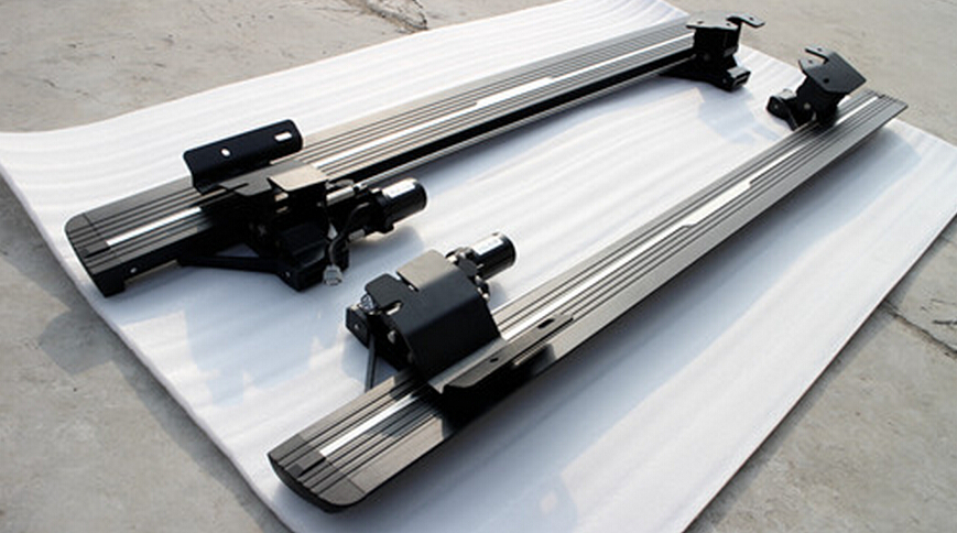 Electric Running Boards >> Us 1637 09 9 Off Electric Running Board Fit For Audi Q7 2012 2013 2014 2015 2016 2017 2018 Power Side Step Nerf Bar In Pedals From Automobiles