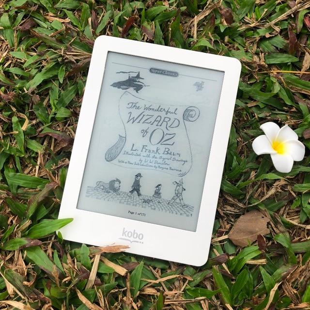 Lector de libros electrónicos Kobo glo e-tinta libro de luz 6 pulgadas 1024x768 ebooks 2 GB WiFi lector
