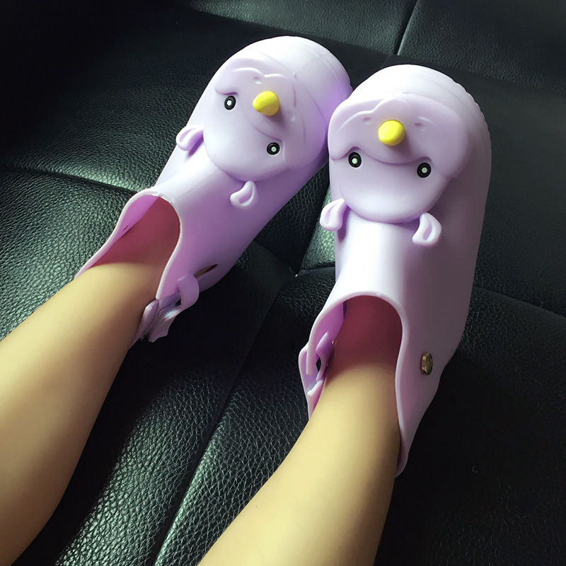 Mini Melissa Rhinoceros Head Rain Boots 2018New Non - Slip Children Rain Boots Jelly Shoes Baby Water Boots Shoes Melissa Boots