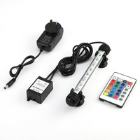 LED Aquarium Submersible Lamp With Remote Controller Aquarium Fish Tank Plant RGB 5050SMD 12V LED Light