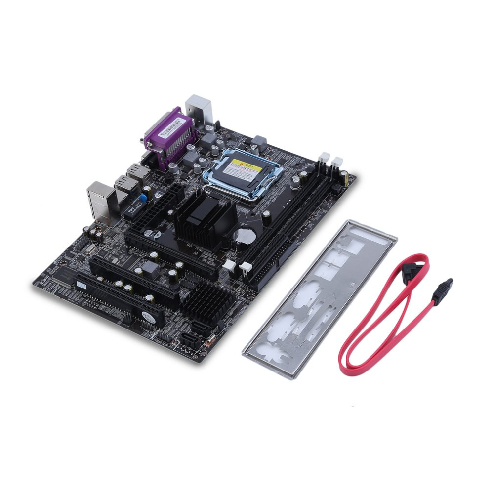 Motherboard Powerful G41/771 Desktop Computer Mainboard Integrated RTL8105E Motherboard Supports For DDR3 1066 1333MHz Motherboard Powerful G41/771 Desktop Computer Mainboard Integrated RTL8105E Motherboard Supports For DDR3 1066 1333MHz