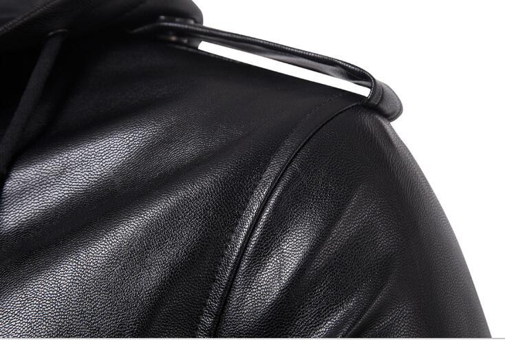 En Américain Et Black 5xl À 2019 Veste Capuche Moto Grande Cuir Hommes Personnalité De M Taille Nouveau Européen fqTTUv