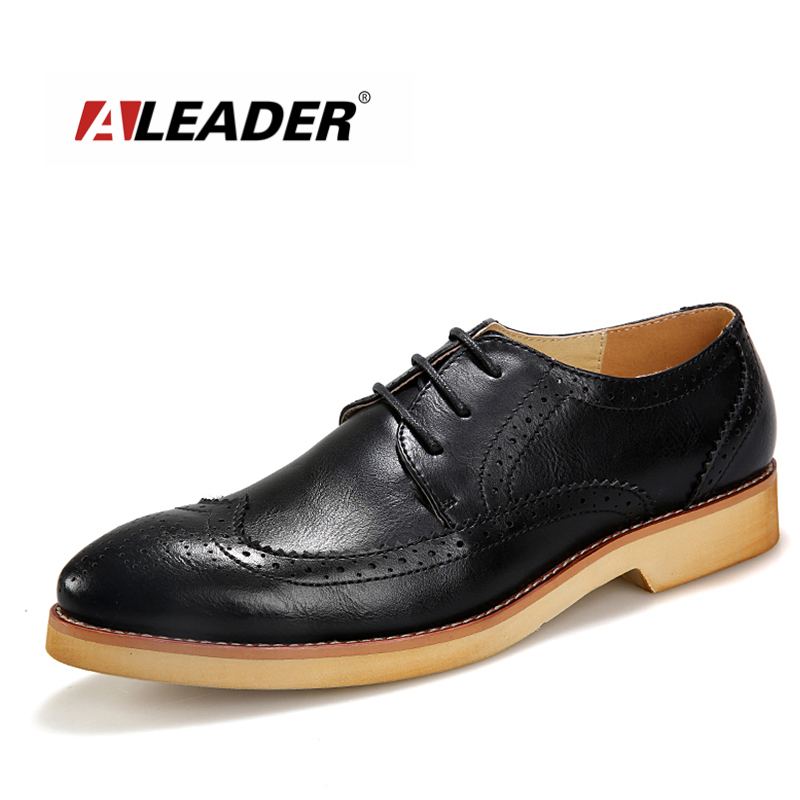 New Fashion Men Casual Shoes 2016 Spring Genuine Leather Men Shoes Lace up Casual Oxfords Flats for Men Sapatos Masculinos