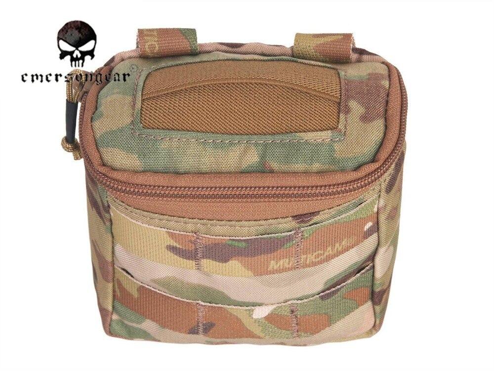 Image 4 - Emersongear Скрытая Перчаточная сумка/500D Мультикам Молл битва  поле медик EMT сумка EM9336medical mollemolle medicalpouch pouch -