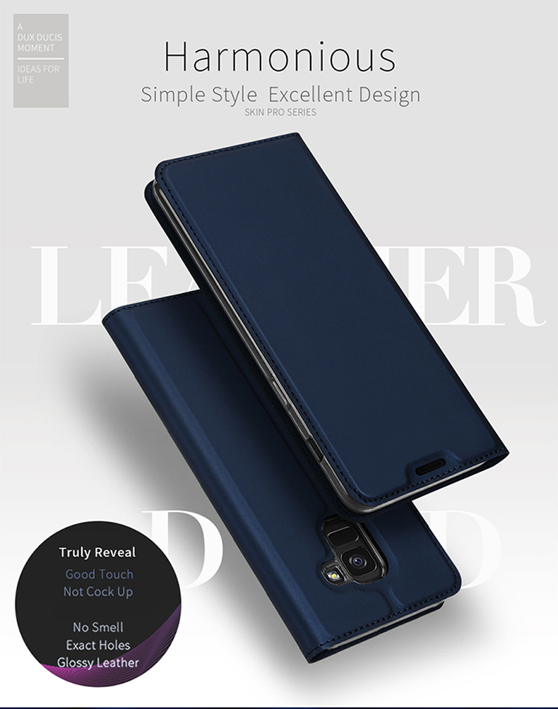 Buy Generic For Samsung S8 Luxury Flip Thin Soft Leather