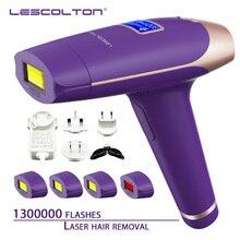 Lescolton Эпилятор IPL, 1300000 раз, 5 в 1, постоянное удаление волос с ЖК-дисплеем, лазерная машина для бикини Boay, для лица, подмышек