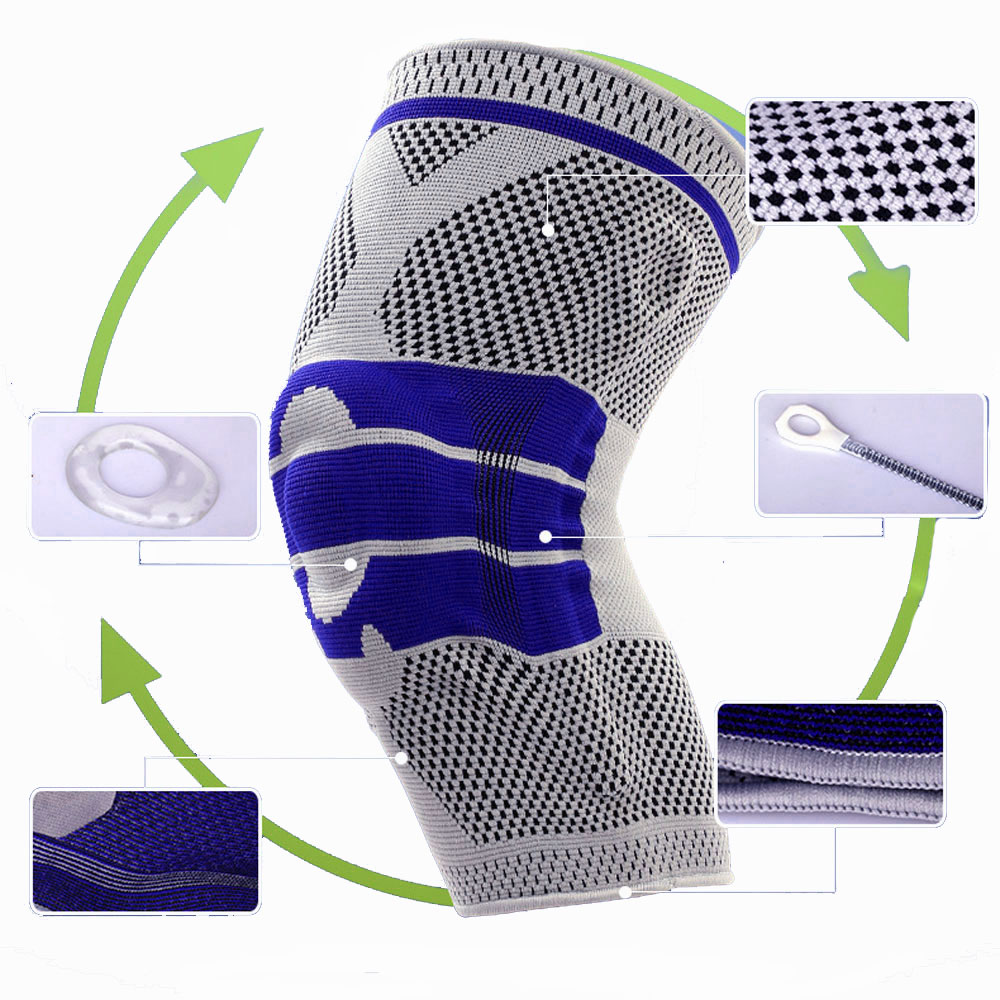 Basketball Football Volleyball KneePad Training Elastic Sports Safety Protection Knee pads Sports Safety Guard Strap Protect