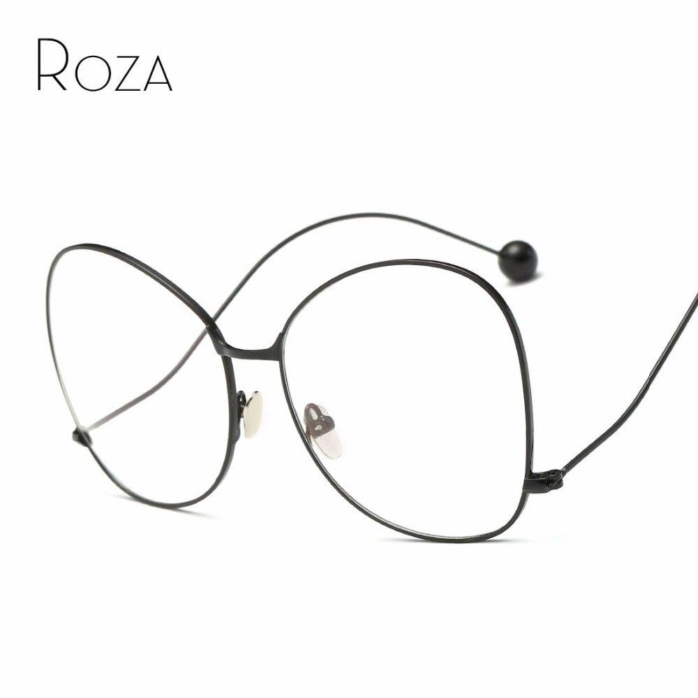 Roza Gafas de sol mujeres leer Gafas espejo lente cobre Marcos marca  diseñador oversized Sol Gafas UV400 qc0486 e37360f4dd