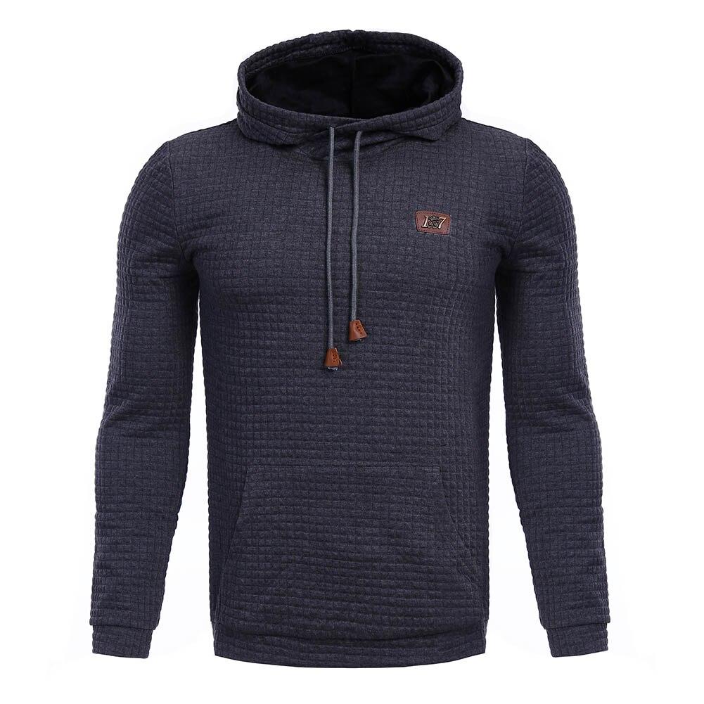 Fashion Hoodies Men Sweatshirt Male Hooded Jacket Casual Sportswear  Autumn Tracksuits Tops Outwear  Winter Hooded