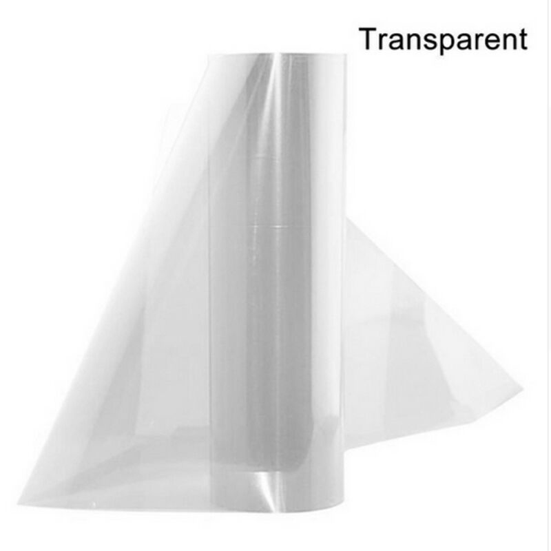 1pc 30*60cm Headlight Protective Film 3-layer Protection Good Heat Dissipation Vinyl Universal Decoration Parts
