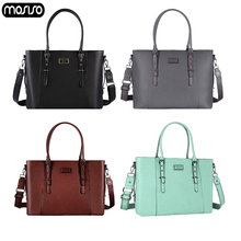 MOSISO 2019 Shoulder Bag For Women PU Leather Business Large Capacity Laptop Bags Briefcase Shopping Travel