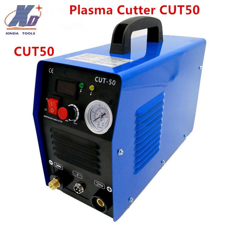 Nowa maszyna do cięcia plazmowego CUT50 220 V napięcie 50A do cięcia plazmowego spawacz towarzyszem