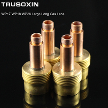 Welding Machine Accessories TIG Welding Torch Consumables Alumina  Big 2.4mm net Gas Lens Fit WP 17 18 26 Series Welding Torch welding tools tig welding machine accessories wp17 18 26 torch consumables 54n01 54n63 large gas lens insulator gasket