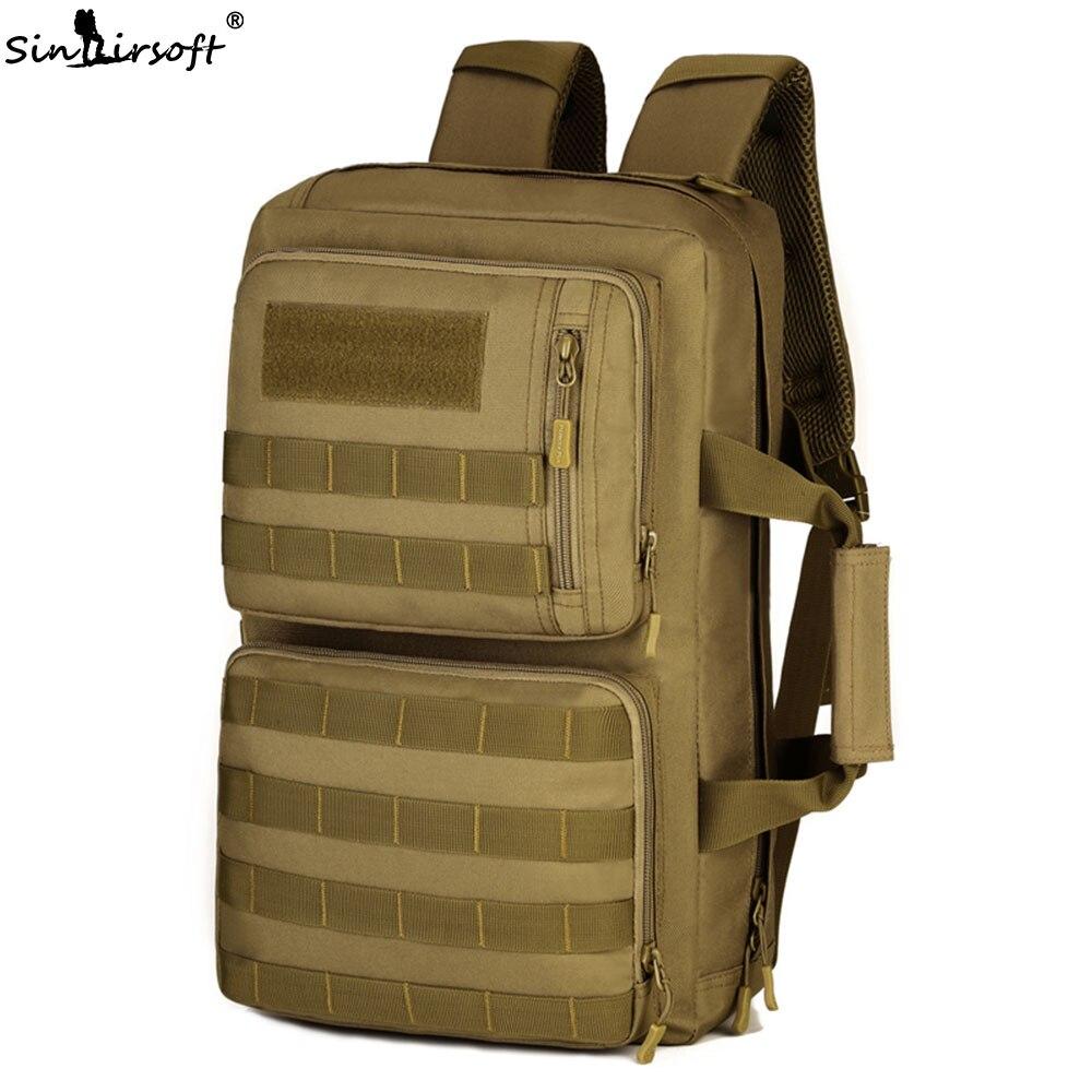SINAIRSOFT Outdoor 35L Sport Climbing Camping bag 3 Use shoulder bag Trekking Molle travel Bag Military