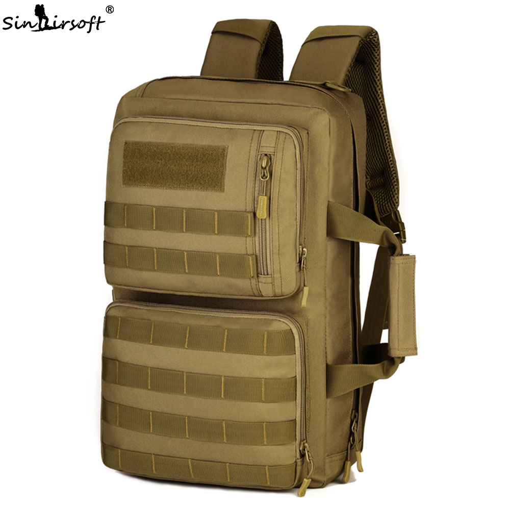 SINAIRSOFT Outdoor 35L Sport Climbing Camping bag 3 Use shoulder bag Trekking Molle travel Bag Military Tactical Backpack LY2009