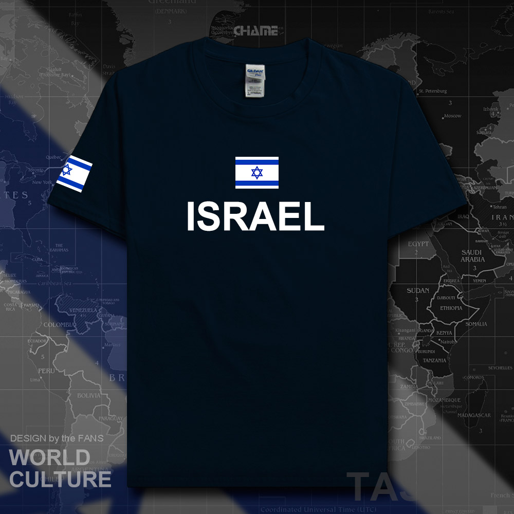 <font><b>Israel</b></font> Israeli men <font><b>t</b></font> <font><b>shirt</b></font> 2017 jerseys nation team cotton <font><b>t</b></font>-<font><b>shirt</b></font> sporting meeting fitness gyms clothing tees country tshirt image
