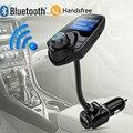 2017 Novo T10 Rádio Transmissor FM Sem Fio Bluetooth Car Kit Mãos Livres o apoio TF Cartão de U Disco MP3 Player carregador de Carro estilo Do Carro